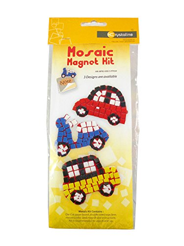 TOP Asian Souvenirs Mosaic Kits Car Magnet Note