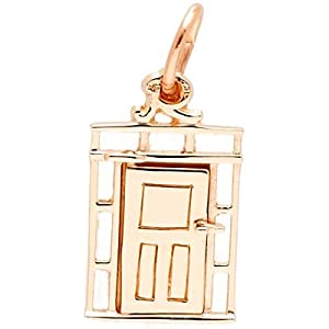 Rembrandt charms door charm 10k yellow gold clasp style charms