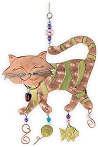 Pilgrim Imports Tiger Cat Fair Trade Ornament