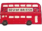 Red London Routemaster Bus Fridge Magnet Ceramic Best of British Souvenir Gift