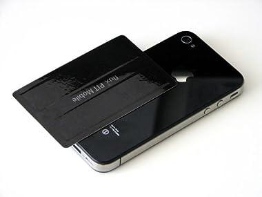 PIT-Mobile 干渉エラー防止シール ICカード収納型 iPhone ケース対応 「ピット・モバイル」/ブラック