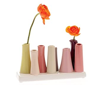 Chive, Pooley 2, 8-Tube, Classic Vase
