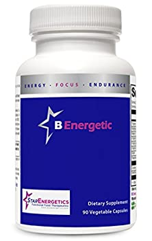 buy B Energetic - 90 Capsules | Full Spectrum Activated B Vitamins | Quaterfolic 5-Mthf | B6, B12, Folate, Niacin, Thiamin, Riboflavin, Niacin, Biotin, Pantothenic Acid | Cgmp