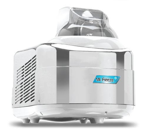 MaxiMatic EIM-550 Elite Compressor Ice Cream Maker, 1.5-Quart, White/Chrome