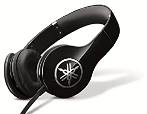 Yamaha PRO 300 High-Fidelity On-Ear Headphones (Piano Black)