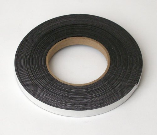 Storesmart® - Magnetic Tape Roll - Peel & Stick Backing - 1/2 Inch X 50 Feet - Magstb-50Ft front-264977