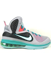 Lebron 9 (GS) Miami Vice/South Beach (wlf gry/mint candy)