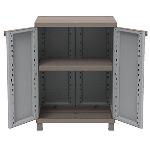 kunststoffschrank garten preisvergleiche. Black Bedroom Furniture Sets. Home Design Ideas