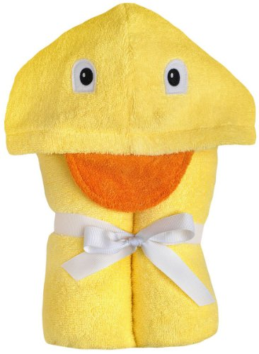 Yikes Twins Child Hooded Towel - Duck
