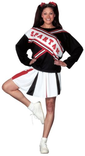 SNL Spartan Cheerleader Female Adult Costume - Adult Costumes