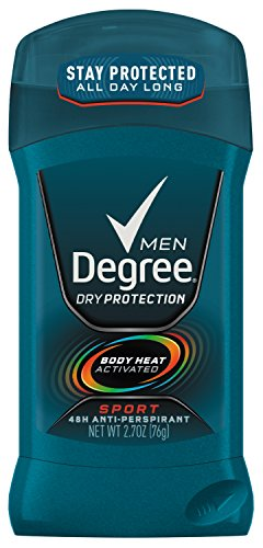 Degree M-BB-1198 Sport Invisible Antiperspirant & Deodorant