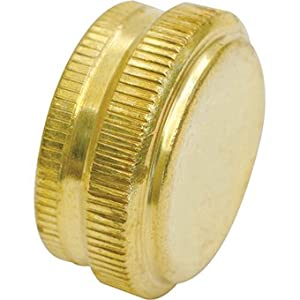 ez flo 70136 hose end cap brass garden hose