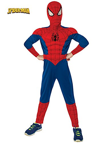 Rubie's Marvel Ultimate Spider-Man Deluxe Muscle Chest Costume