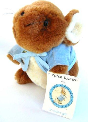 """Beatrix Potter 7"""" Peter Rabbit Plush by EDEN - 1"""