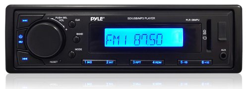 Pyle PLR26MPU- 4 * 60 Watt In-Dash Receiver with AM/FM Radio, AUX Input for iPod/MP3 Players and SD/USB Flash Readers (Ford Escape 2005 Radio compare prices)