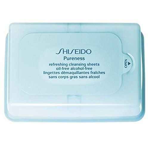Shiseido Pureness Refreshing Cleansing Sheets Oil-Free (Pack of 2)