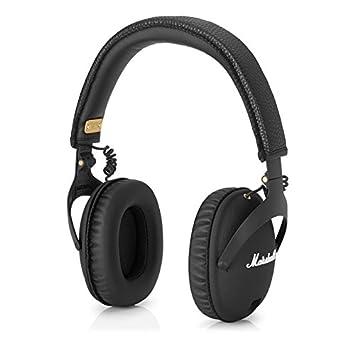 Marshall Moniteur de FX-Écouteurs avec microphone et contrôle de Volume, couleur noir