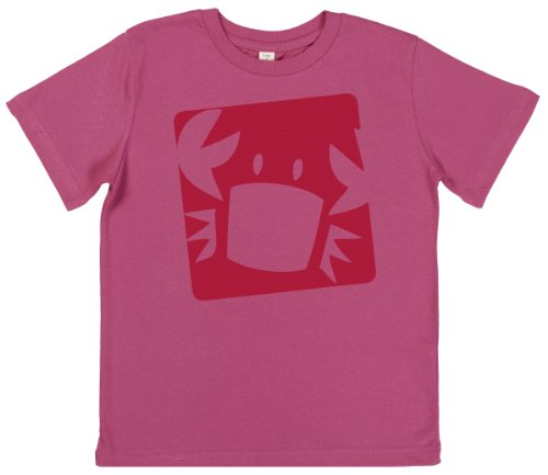 Phunky Buddha - Crab Children'S T-Shirt 7-8 Yrs - Pink front-691774