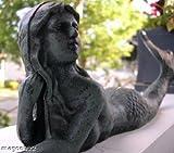 Cast Iron Laying Mermaid Figure ~ Nautical Garden Decor