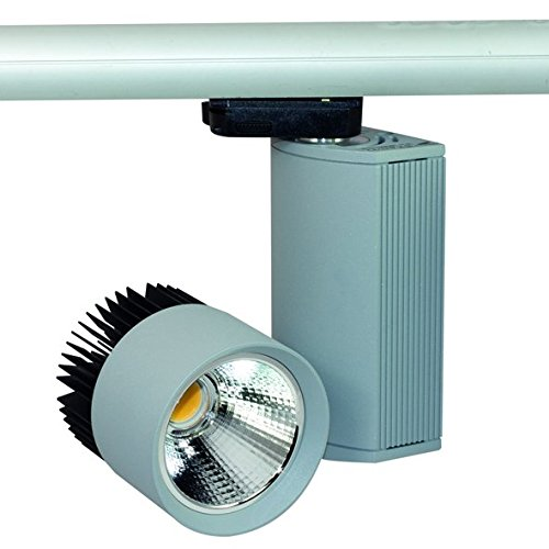 nobilé Strahler Lithos COB LED Scheinwerfer, 30 W, 3000 K, 41 Grad, titan- matt NO-1796614225