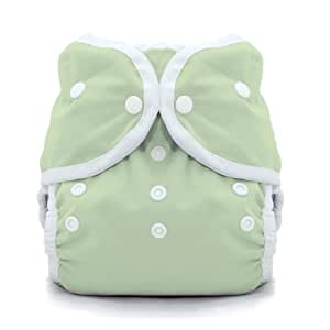Thirsties Duo Wrap Snap Diaper Cover, Celery, Size 2