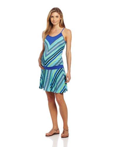 Jules & Jim Womens's Maternity Drop Waist Dress