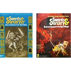 Swords &amp; Sorcery - Quest and Conquest in the Age of Magic (Fantasy Adventure Game) by Greg Costikyan and Eric Goldberg
