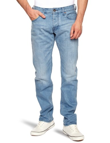 Quiksilver Men's Matt Ador Straight Jeans Beach Wash X-Small 34L