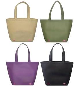 Reusable Shoulder Tote Bag 4 Color Combo Pack