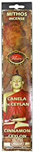 Ceylon's Cinnamon Mythos Positive Energy Incense - F-027 3PK