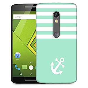 Snoogg Easy Anchor Designer Protective Phone Back Case Cover For Moto G 3rd Generation