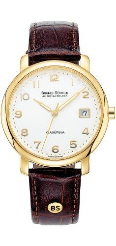 Bruno Söhnle Men's Quartz Watch with Time Analogue Quartz Leather 17-33016-223