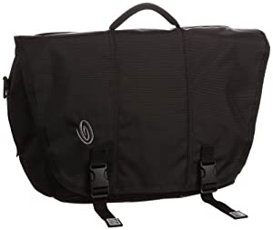 Timbuk2 Commute Laptop Messenger Bag (Black/Black, Small)