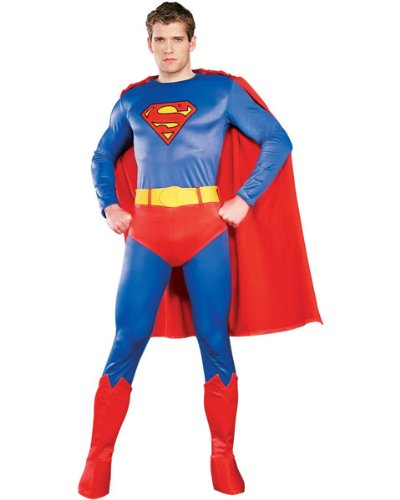 Regency Deluxe Superman Costume for Men L