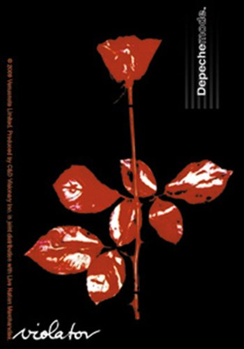 Licenses Products Depeche Mode Violator Sticker