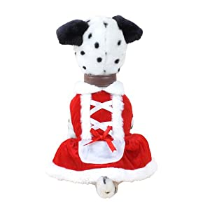Colorfulhouse Christmas Dog Dress Cute Pet Costumes Pet Apparel for Small Dogs by Colorfulhouse