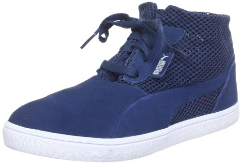 Puma Kai Mid Bellows Perf Wn's High Top Womens Blue Blau (dark denim 03) Size: 7 (41 EU)