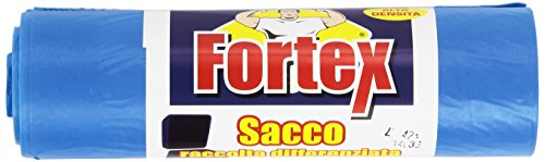 Fortex - Sacco, raccolta differenziata, 70 x 110 cm - 10 pezzi