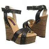 モジョモクシー Women's Mojo Moxy Cher Black Leather 女性 レディース 靴 シューズ サンダル 並行輸入