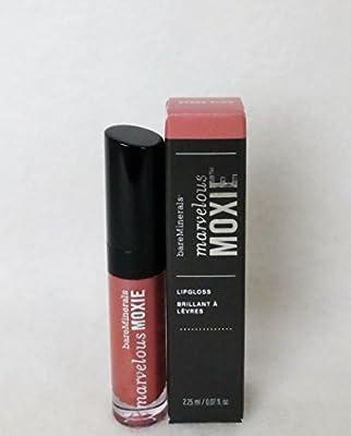 Bareminerals Mini Marvelous Moxie Lip Gloss, Spark Plug, 0.07 Fluid Ounce by Bare Escentuals