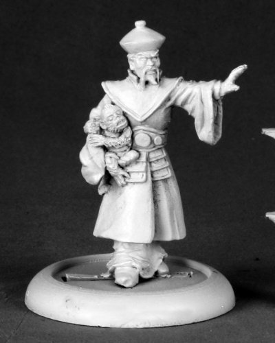 Reaper Miniatures 50170 Chrono Xiang Lung, Chinese Villian by Reaper