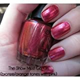 OPI Burlesque Holiday 2010 Nail Lacquers, The Show Must Go On! B11