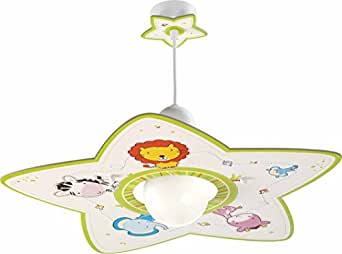 Dalber 10112 lampadario con animali per la camera dei - Lampadario camera bambini ...