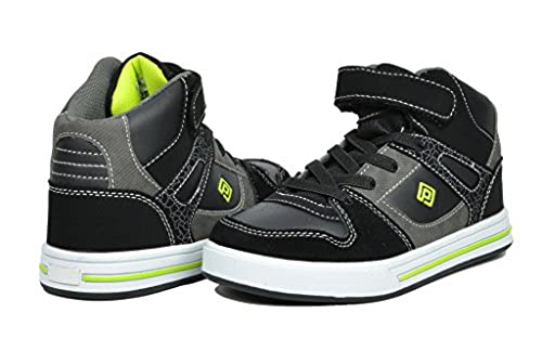 4. Dream Pairs GLY4108/GLY9297 Boy's Athletic Velcro Strap Light Weight Running High Top Sneakers Shoes