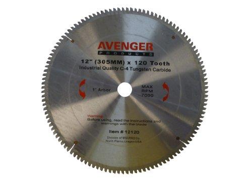 Avenger AV-12120 Aluminum cutting saw Blade 12-inch by 120