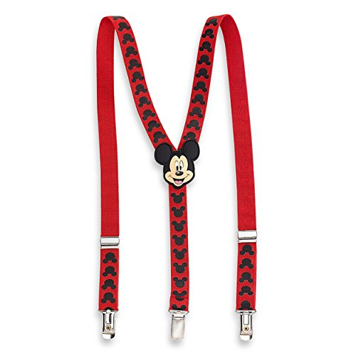 Mickey Mouse Toddler Boys Red Suspenders MSE45540ST