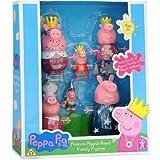 Peppa Pig's Royal Family - Princess Peppa Pig - 6 Figures whole Famiy in Royal Clothing!