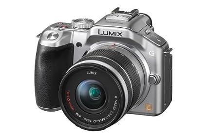 Panasonic Lumix DMC-G5KEG-S Appareil photo hybride 16MPix zoom optique 16x écran tactile 3 pouces video full HD statbilisateur d'images avec Lumix G Vario 14-42mm OIS - argent