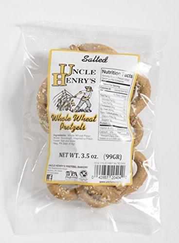 Uncle Henry'S 12X3.5 Oz. Bags Whole Wheat Salt Pretzels front-244001