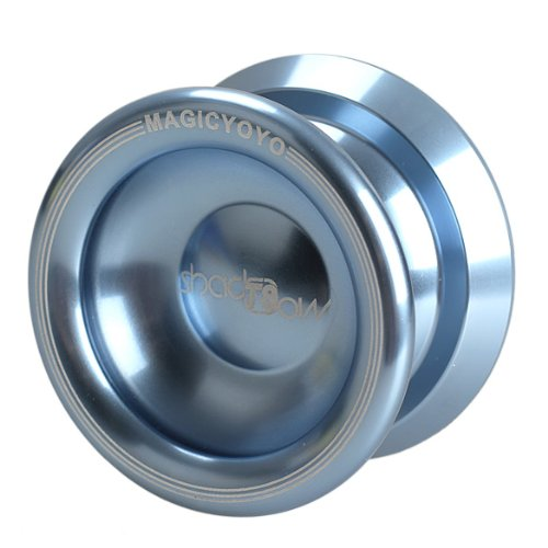 Magic Yo-yo T8 Shadow String Trick Aluminum (Lake Cyan) - 1